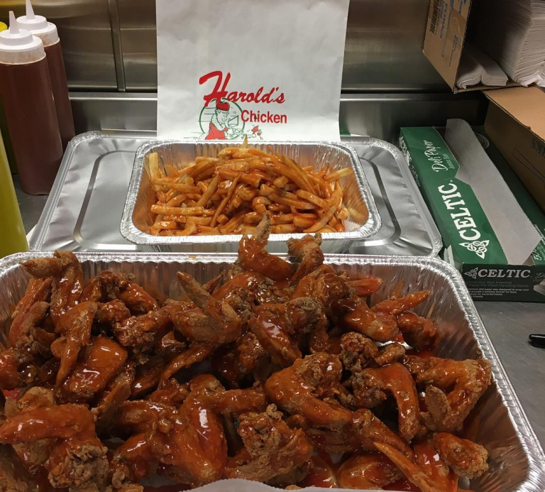 Catering - Pan Fries Wings